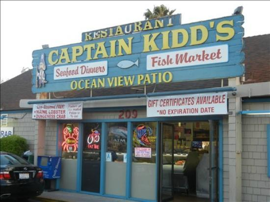 Captain kidd 39 s redondo beach ca picture of captain for Redondo beach fish market