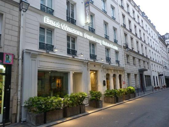 Room picture of best western hotel faubourg saint martin for Hotel best western paris