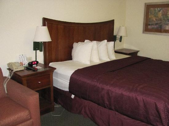 Quality Inn Merchants Drive: Rooms
