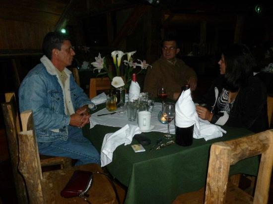 Cabanas Las Ardillas: Area de restaurante