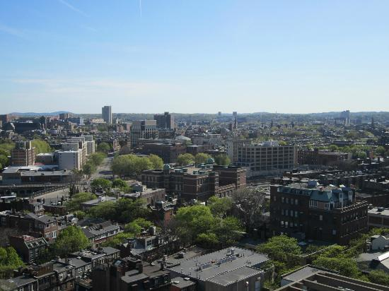 Revere Hotel Boston Common: View from the balcony