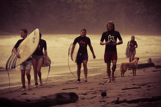 Kalon Surf - Surf Coaching Resort : Jord and us