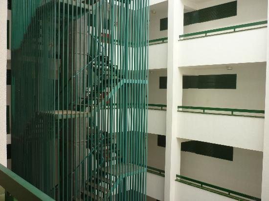 Green Park Apartments: More prison bars!