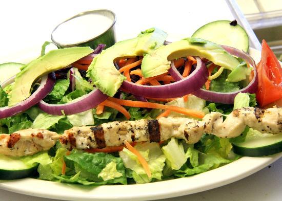 The Patio Grill: Excellent Salad