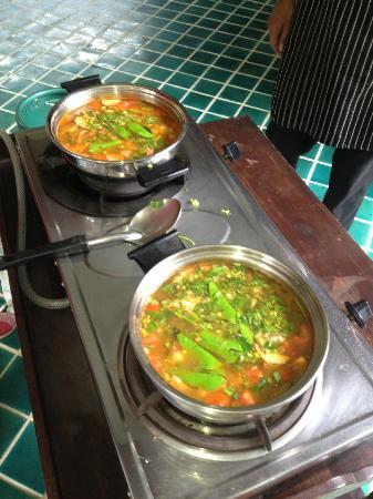 Ruen Come In : cooking class-tom yum kung
