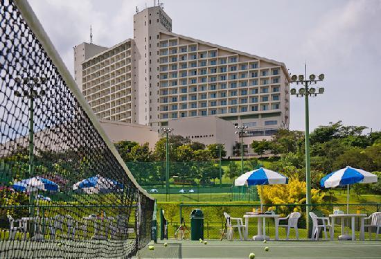 Bourbon Atibaia Convention & Spa Resort: Quadras de Tênis