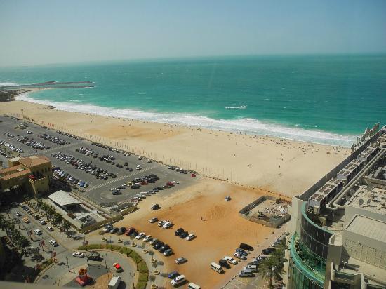 Hilton Dubai Jumeirah : View on the sea