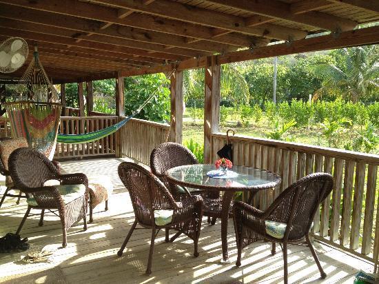 Culebra Beach Villas: Villa #8 Porch