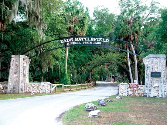 Sleep Inn & Suites Wildwood - The Villages : Dade Battlefield State Park.  Photo provided by the Sumter County Chamber of Commerce.