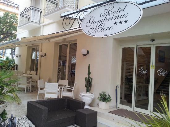 Hotel Gambrinus Mare: ingresso hotel