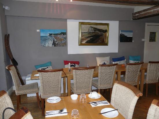 The White Cliffs Hotel: salle du petit déjeuner