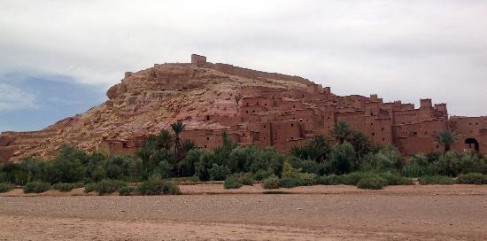 Morocco Dunes Day Tours: Kasbah Ait Benhaddou UNESCO site