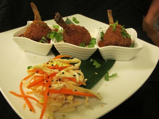 The Secret Garden Restaurant: Chicken Lollipops