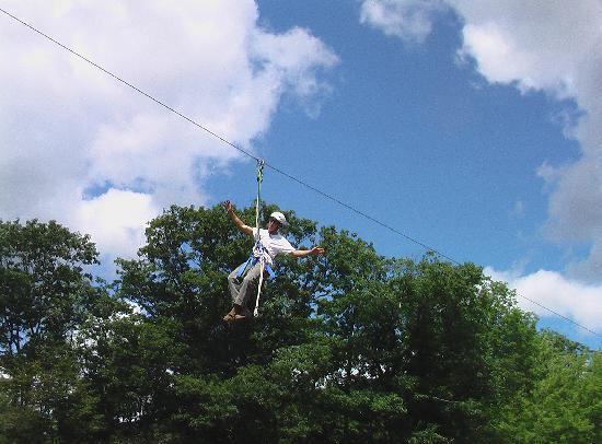 Stone Tavern Farm: Ride our 1/4 mile Zipline
