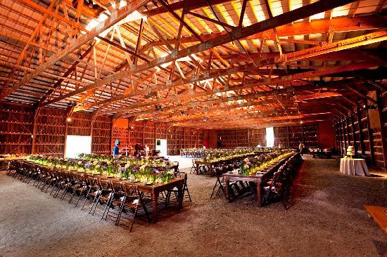 Stone Tavern Farm: Wedding Reception in our Barn