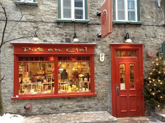 Quartier Petit Champlain : Pot en Ciel, a kitchen store
