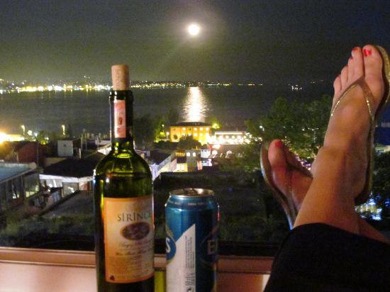 Cem Sultan Hotel: Fun evening on the Top Floor of Cem Sultan