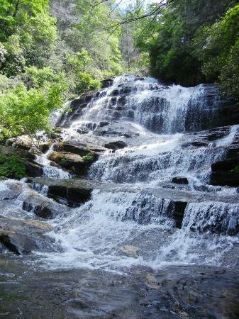 Carolina del Norte: Glen Falls, Highlands, NC