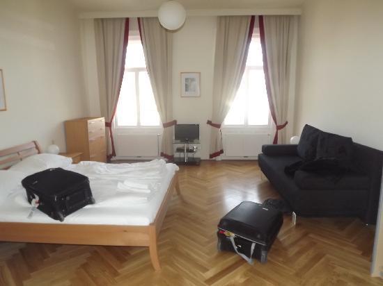 Belvedere Appartements: La chambre