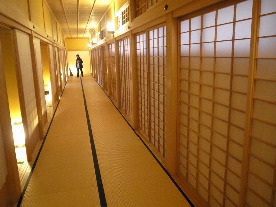 Hakodate Bugyosho : 廊下