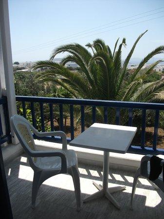 Ξενοδοχείο New Aeolos: Nice view from the balcony