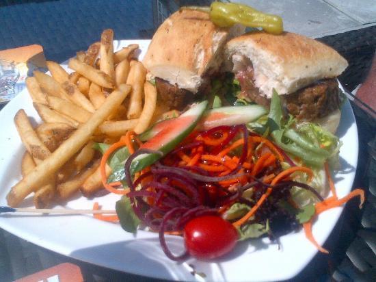West Coast Tap House: Meatloaf Sandwich
