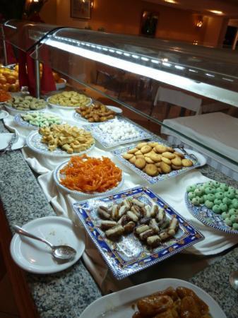 Hotel Meninx: Buffet de désert