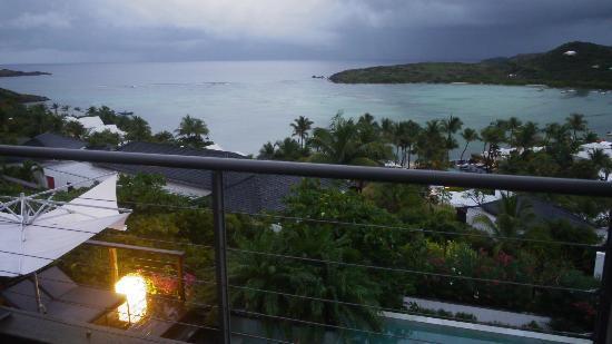 Hotel Villa Lodge 4 Epices: Vue depuis la suite