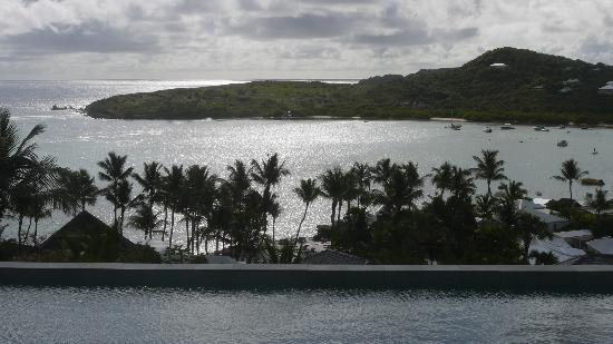 Hotel Villa Lodge 4 Epices: Vue partielle depuis la suite