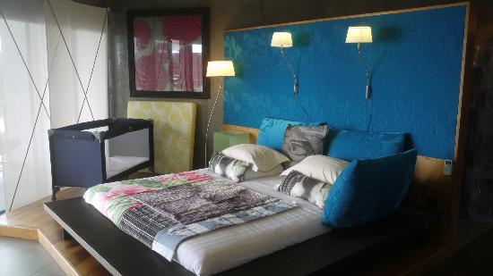 Hotel Villa Lodge 4 Epices: Juste pour info: lit petit enfant d'excellente qualité!