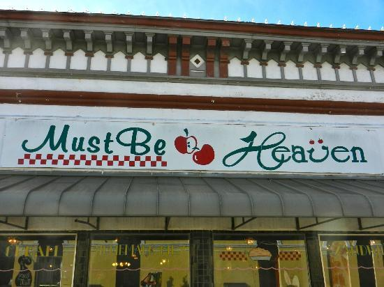 Must Be Heaven sign