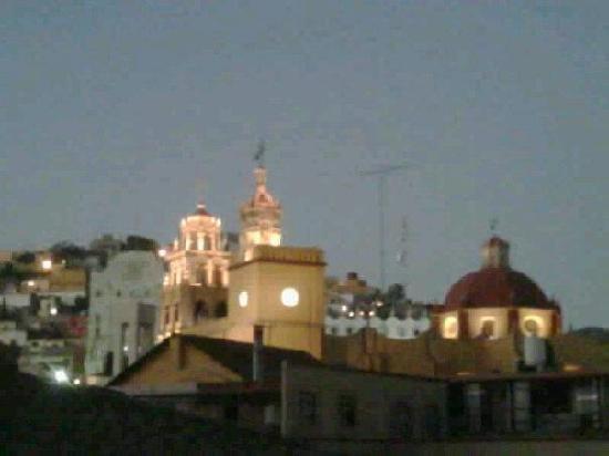 Hospedería del Truco 7: Vista desde nuestro balcon