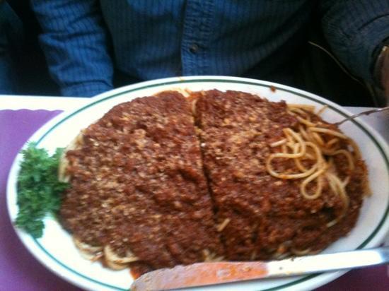 Ginos Restaurant: Gino's Speghetti
