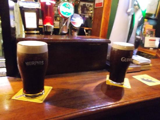 Taaffes Pub: Two Stouts