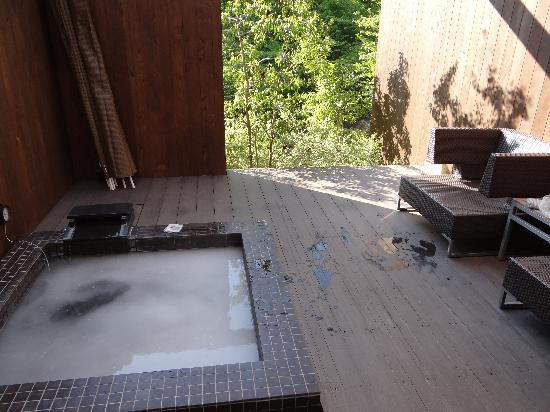 Hakone Auberge Ren: 部屋付き露天風呂