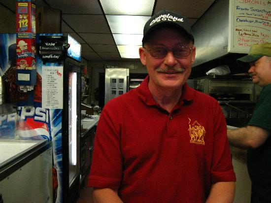 La Casa De Pizza: Steve - a great pizza man!