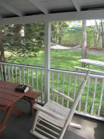Hampton Bays, Nowy Jork: Screened porch and hammock!