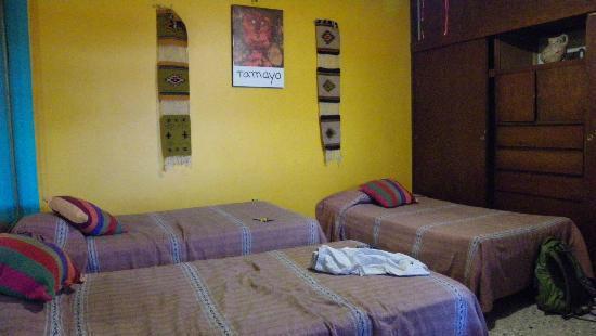 Posada Don Mario: Notre chambre pour 4