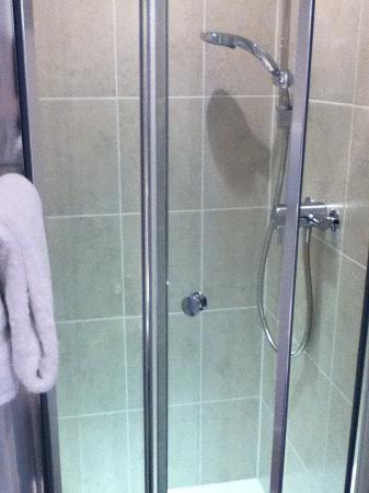 Canterbury House: Modern shower
