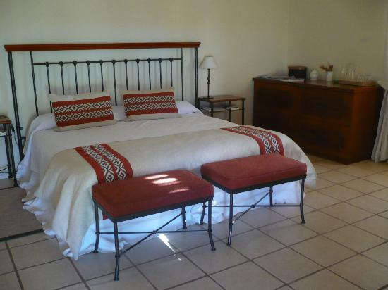 Hotel de Vino: Habitación
