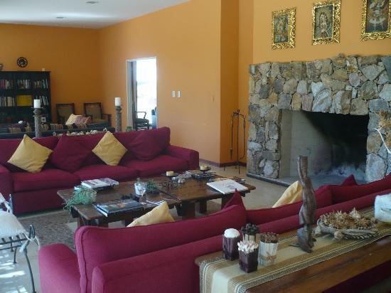 Hotel de Vino: Living