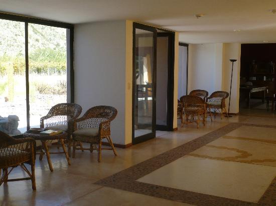 Hotel de Vino: Hall