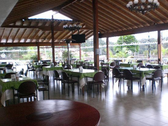 Hotel Los Recuerdos: Excelente la comida