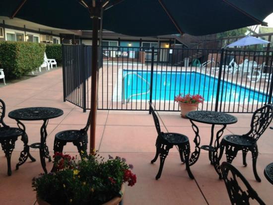 King Frederik Inn: Swimming pool