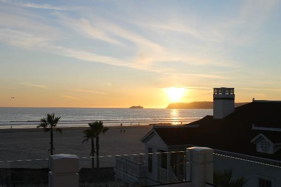 Hotel del Coronado: Beautiful Sunset