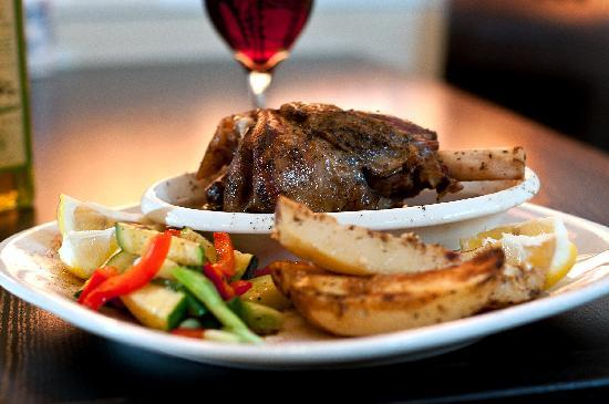 Balkan Restaurant : Arni Psito - 12 hour slow roasted fresh daily