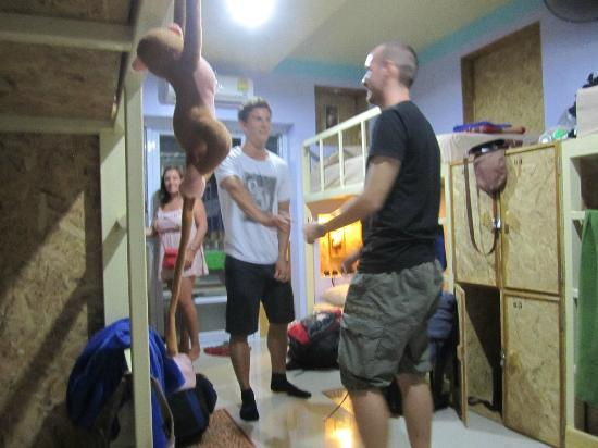 Khun Ying House: Dancing in the dorms