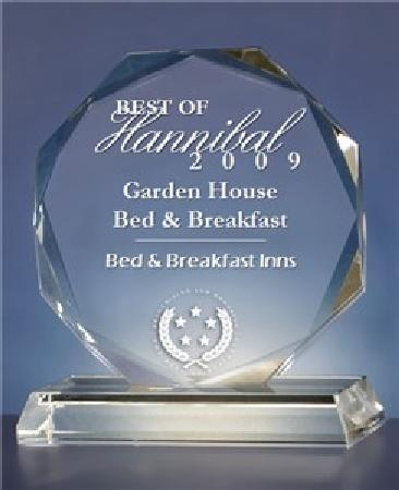 Garden House Bed & Breakfast: Best of Hannibal 2009