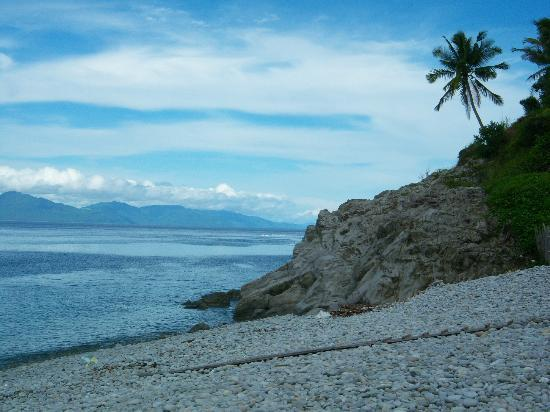 Surigao City, Filipiny: Mt Bagarabon Mabua Pebble beach