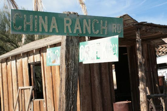 China Ranch Date Farm: Find Yourself @ this Intersection